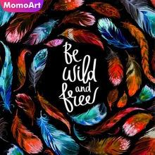 MomoArt Diamond Painting Cartoon Mosaic Full Square Drill Picture Of Rhinestone Embroidery Handmade