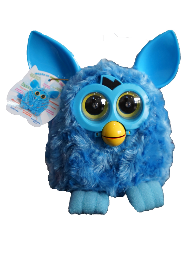 Friby toys Russian Speaking Electronic Pets Phoebe Firbi Pets Owl Elves Recording Talking Hamster Smart Toy Doll Furbiness boom
