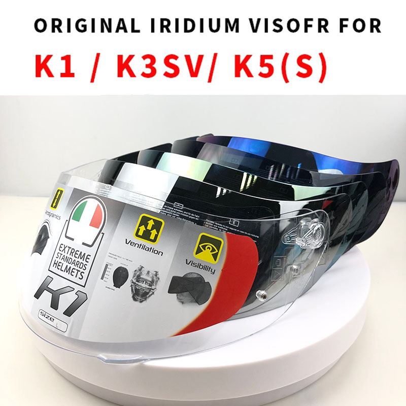 Helmet Visor for K1 K5 K3 SV Motorcycle Detachable Helmet Glasses Motorbike Helmet Lens Motocross Full Face Visor