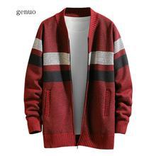 Men Jacket 2020 Men's Autumn Winter Casual Patchwork Turn-down Collar Coat,Men's Jackets