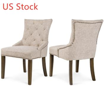 2  Padded Dining Chairs  1