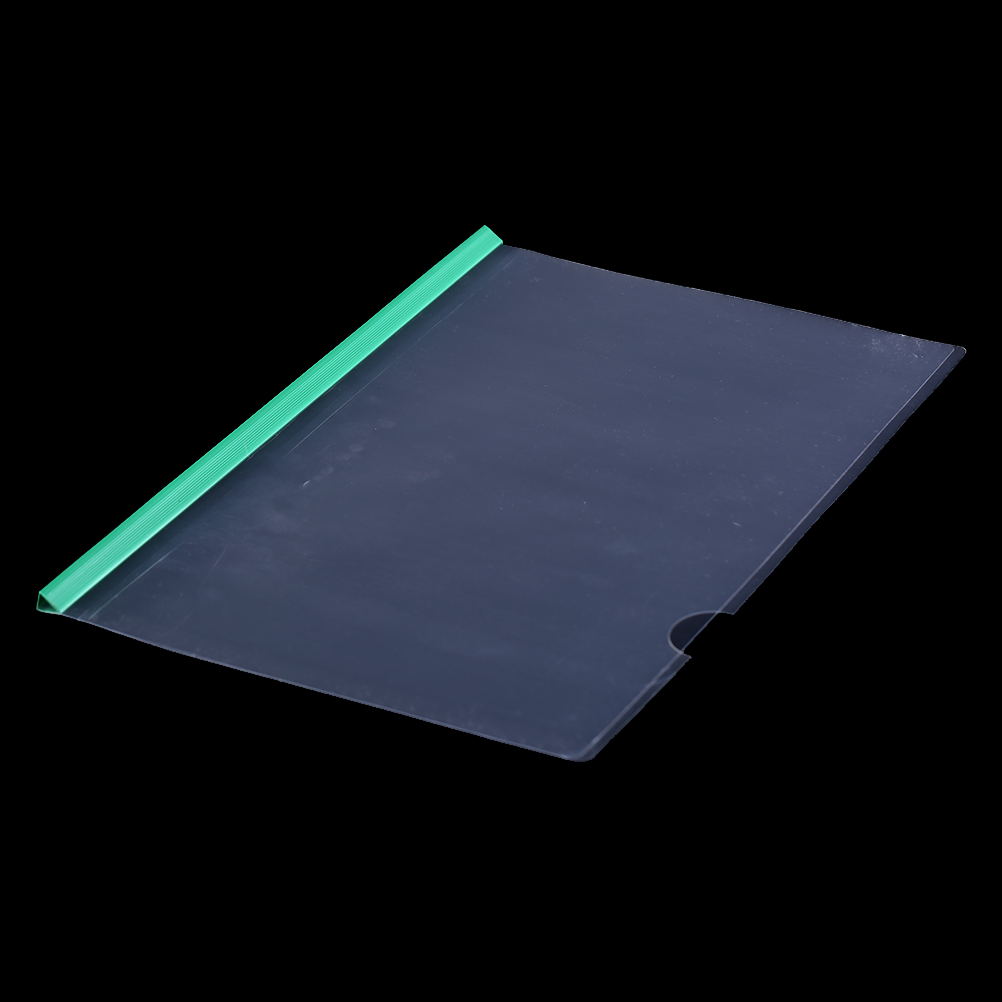 5 Pcs Stationery PP Report Cover & Spine Bar Holder File Folders A4 For Exercise Books Documents Papers Bills