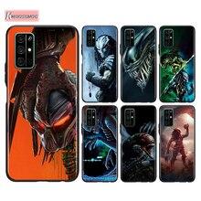 Silicone Cover Alien vs Predator For Huawei Honor 30 20S V20 9A 9S 9X 10i 9i Lite 9C 8C 7S 7C Pro Plus Phone Case stylish alien vs predator shape key ring