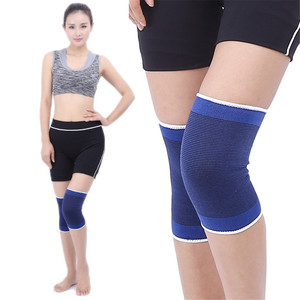 1PC Fashion Knee Pads Elasticated Kneepad Warm Knee Wrap Support Sport Protection Guard Strap Elasticat Bandage Cycling Outdoors