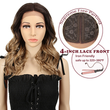 "Mgaic 20""Inch Wavy Synthetic Hair Lace Part Wig For Black"