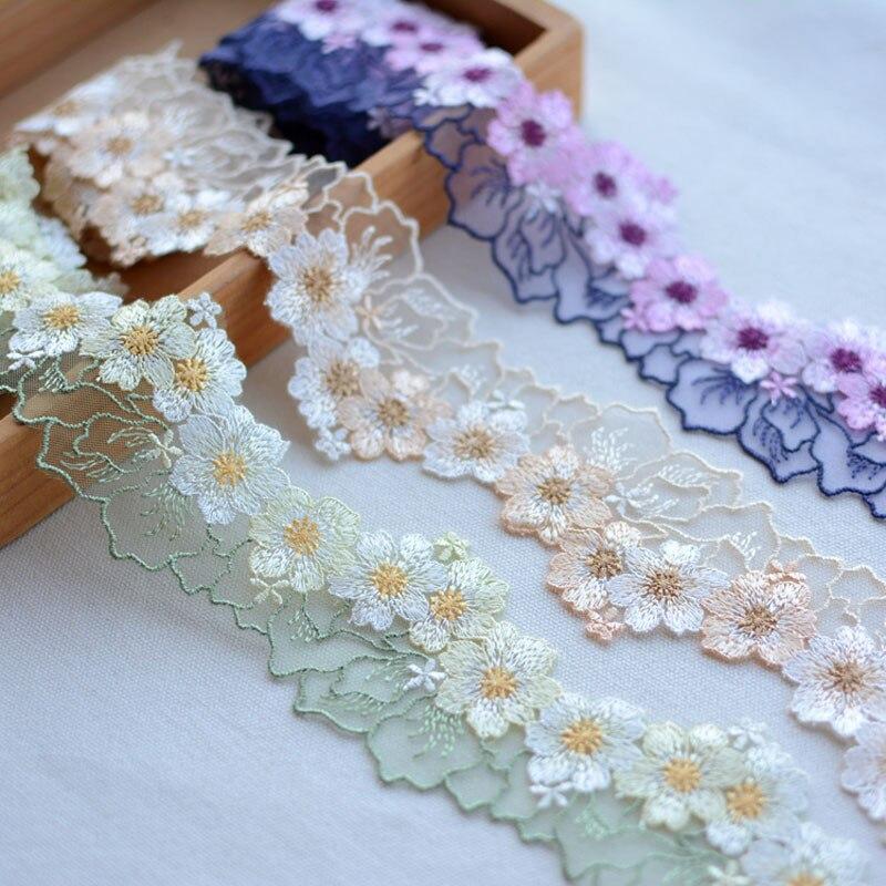 Doble Capa De Encaje Suave Mariposa apliques coser parche Insignia Motif Trim Craft