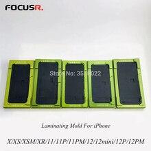 Moule dalignement décran LCD 2 en 1, pour iPhone X XS Max XR 11 12, pour Machine TBK Ocamaster