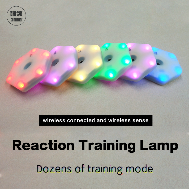【queling】reaction Training Light Lamp Speed Agility Response Equipment Boxing React Sensory  Agile Fitlight Blazepod Siboasi