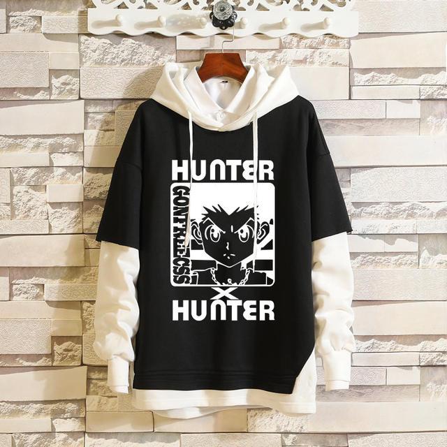HUNTER X HUNTER THEMED PULLOVER HOODIE (11 VARIAN)