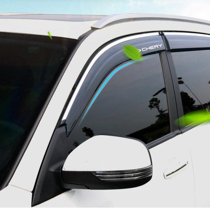 Window Door Vent Rain Deflector Sun Guard FOR Accord 2013 2014 2015 2016 2017