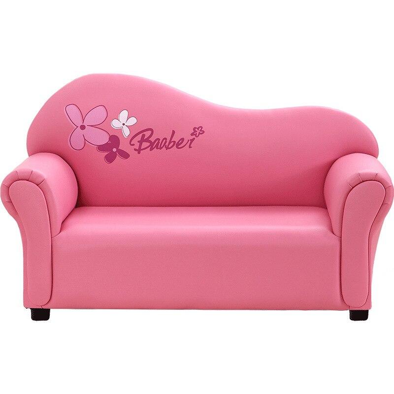Kids Sofa Cute Cartoon Children Furniture Kindergarten Baby PInk Sofa Chair For Kids Birthday Gifts For Girls Bedroom Furniture