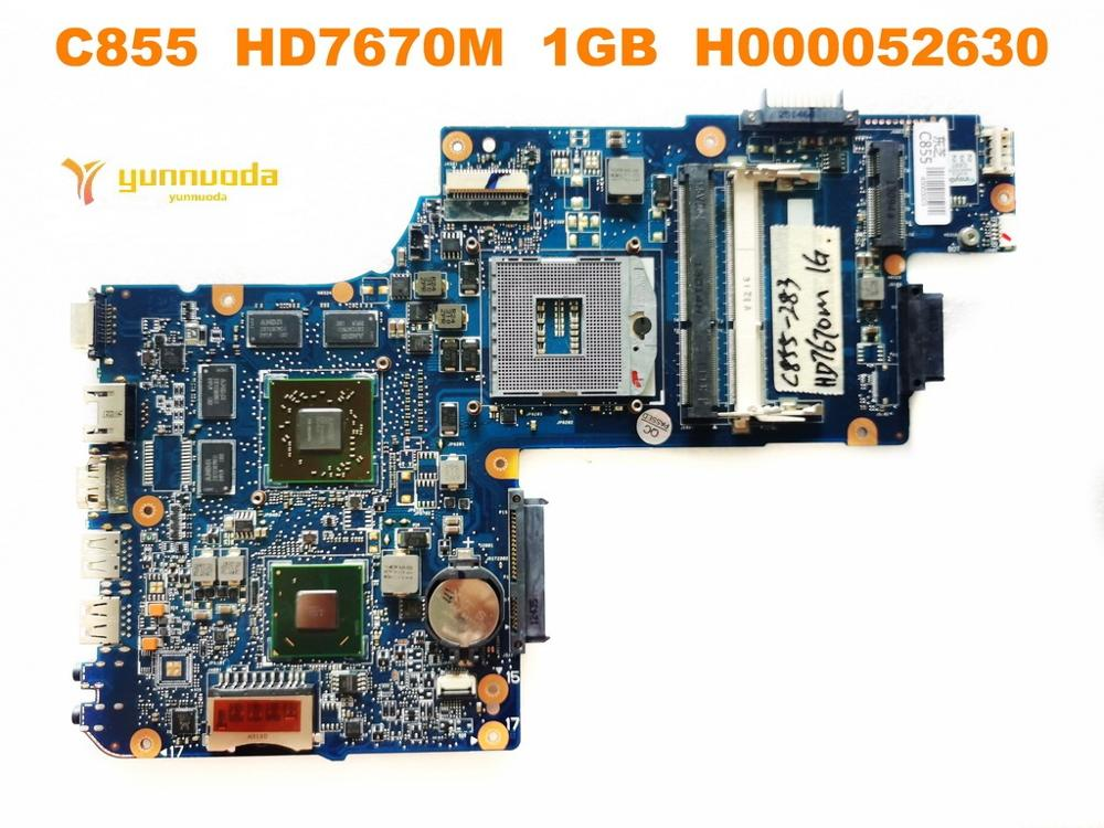 Original For Toshiba C855 Laptop Motherboard C855  HD7670M  1GB  H000052630  Tested Good Free Shipping
