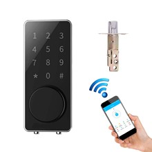 TTLock Bluetooth Deadbolt Door Lock Wireless Wifi Smart Lock