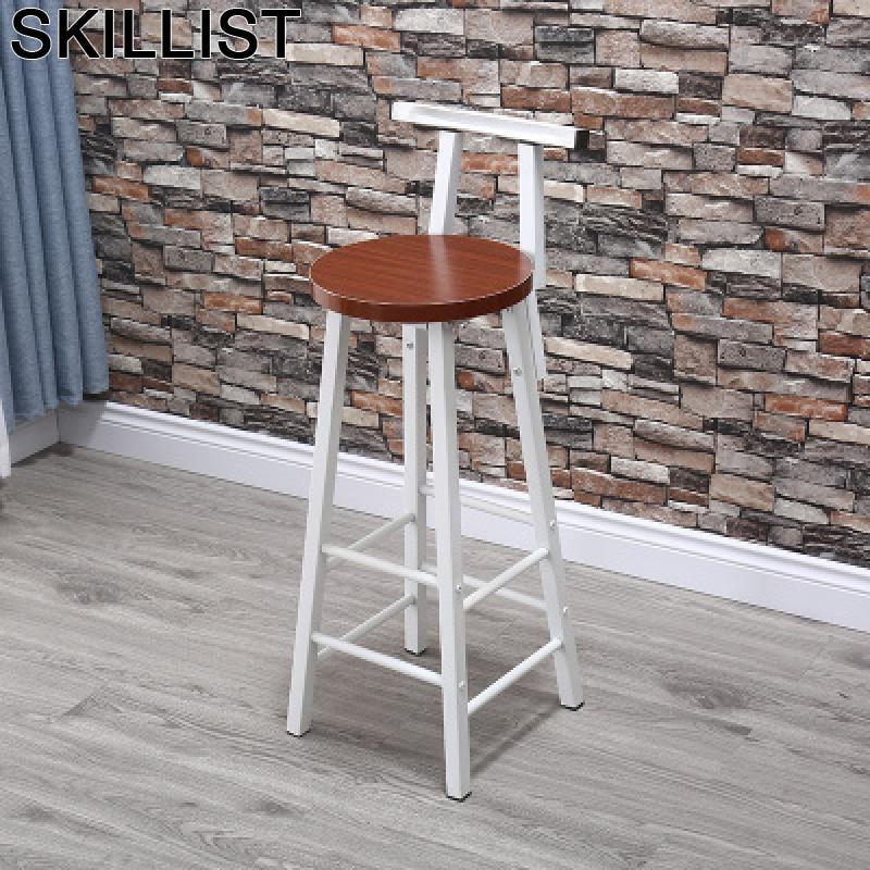 Stuhl Barkrukken Tabouret Industriel Banqueta Todos Tipos Barstool Taburete De La Barra Silla Cadeira Stool Modern Bar Chair
