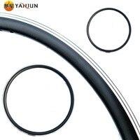 Mountain Bike 700C Plate/V Brake Rim 700C Bicycle shuang ceng dai Rivet 32/36 Hole Plate/V Circle