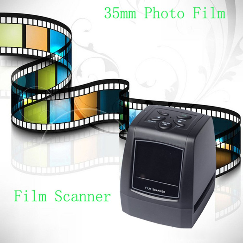 Film Scanner de Slides de Fotos Negativo