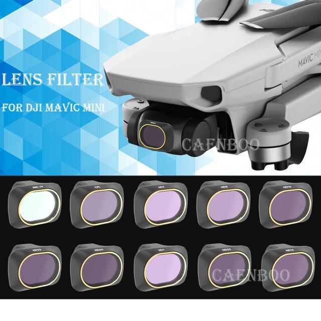 ドローンセットフィルター UV CPL 極性 ND4/ND8/ND16/32 Nd フィルターレンズ Dji マヴィックミニカメラアクセサリーキット