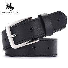 JIFANPAUL натуральная кожа роскошный бренд Дамская мода Повседневный ремень сплав Пряжка для джинсов декоративные трендовые ретро ремни