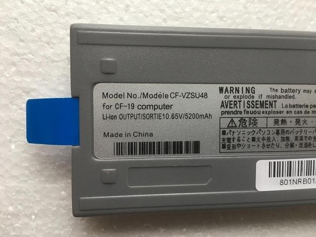 SupStone 6 celular nuevo CF-VZSU48U batería del ordenador portátil para Panasonic Toughbook CF-19 CF19 CF-VZSU48 CF-VZSU48R CF-VZSU28 CF-VZSU50