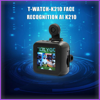 T-watch-k210 face recognition AI K210 module ESP32 custom programming TTGO LILYGO