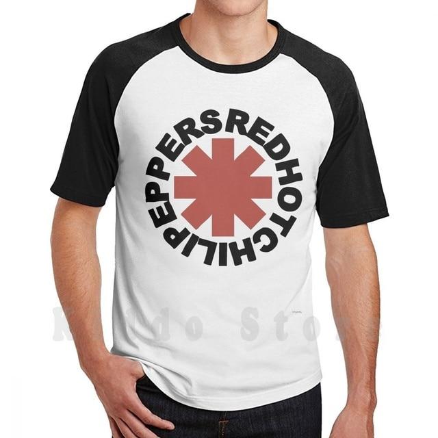 T Shirt Diy Big Size 100% Cotton Hot Chilli Peppers Chilli Peppers Red Flea Album Anthony Kiedis Chili Music Pepper John 1