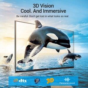 Image 2 - Bộ Chia Vention HDMI 2.1 Cáp 8K 60Hz 4K 120Hz 48Gbps Kỹ Thuật Số HDMI Dây Xiaomi Mi hộp PS5 PS4 Bộ Chia HDMI Bộ Mở Rộng 8K Cáp HDMI