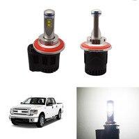 High Power 110W 10400LM LED Headlight Kit H13 9008 Hi Lo Beam Led Bulbs For Ford F150 F 150 2004 2014 White Car High Low Light