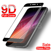9D Protective Glass on For Xiaomi Redmi Note 4 4X 5 5A Pro Screen Protector For Redmi 5 Plus 5A 4X 4A Tempered Glass Film Case