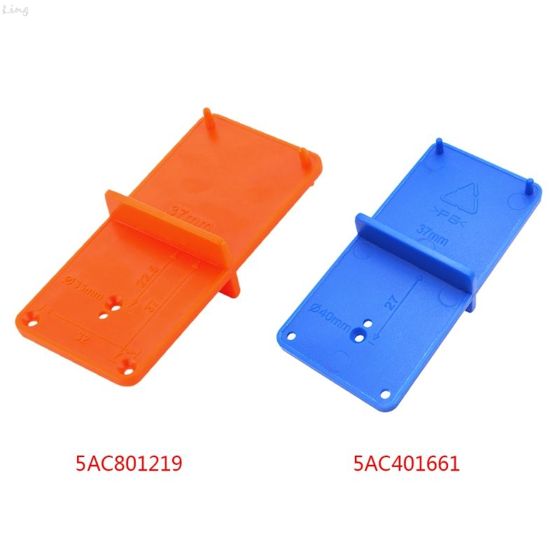 35mm 40mm Hinge Hole Drilling Guide Locator Holes Opener Template Model Door Cabinets DIY Woodworking Tool L29K