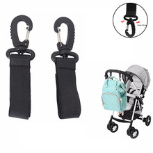 Hanger Hook Clip-Stroller-Accessories Bag 2pcs Carriage Multifunctional Baby