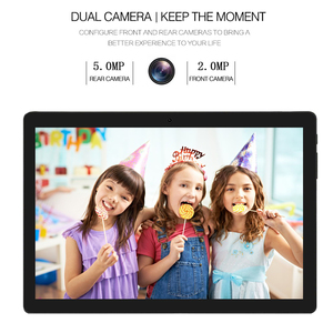 Image 2 - 2020 Newest Android 9.0 Pie 10 inch Tablet Pad Phone Call Rear pixel 5.0MP 32GB ROM Dual SIM 2.5D Tempered Glass Планшетный ПК