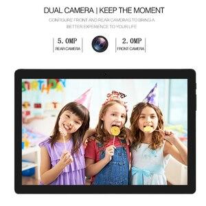 Image 2 - 2020 najnowszy Android 9.0 ciasto 10 cal Tablet Pad telefon z tyłu pikseli 5.0MP 32GB ROM Dual SIM 2.5D szkło hartowane Планшетный ПК