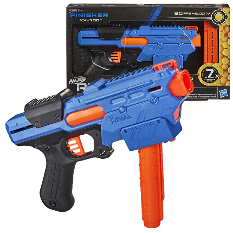 Hasbro Nerf Rival FINIDHER Quick Load Magazine XX-700 Soft Bullet Gun Boy Toy Kids  Gift