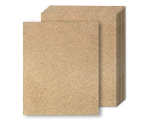 A4 Brown Kraft Plain Matte Paper Cardstock Thick Papers Card For Craft Cardmaking Scrapbooking  230gsm Thickness 2/10/30/50pcs