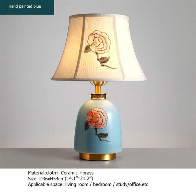 Купить латунные настольные лампы oufula керамический настольный светильник картинки цена