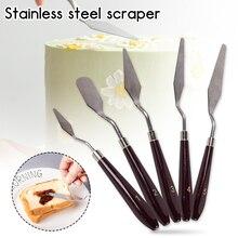 5PCS Pastry Cutter Butter Cake Scraper Dough Cutter Icing Spreader JJ