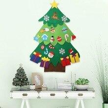 Красочные наклейки на окна, с изображением лося, рождественской елки, рождественской елки, Счастливого Рождества, стеклянные наклейки на окна, украшения