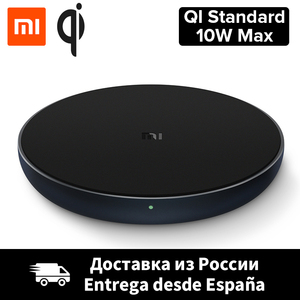 Xiaomi Wireless Charger Qi Smart Quick Charge Fast Charger 7.5W for Mi MIX 2S iPhone X XR XS 8 plus 10W For Sumsung S9(China)