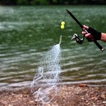 1 шт., новинка, рыболовная сеть, рыболовная клетка, ажурная конструкция, медная пружинная сеточка, рыболовные снасти, рыболовные принадлежности