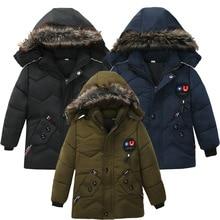 Верхняя одежда для детей; теплое пальто; спортивная детская одежда с капюшоном; водонепроницаемые ветрозащитные утепленные куртки с хлопковой подкладкой для мальчиков и девочек; парки