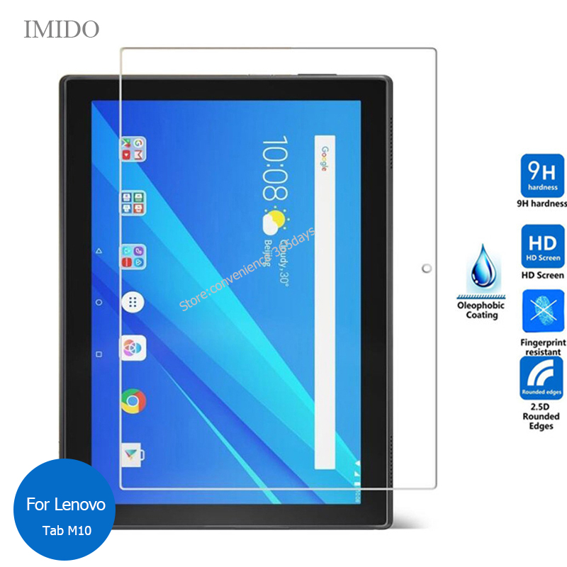 For Lenovo Tab M10 TB-X605F Tempered Glass Screen Protector 9h Safety Protective Film On TabM10 M 10 TB-X605L TB X605F X605L