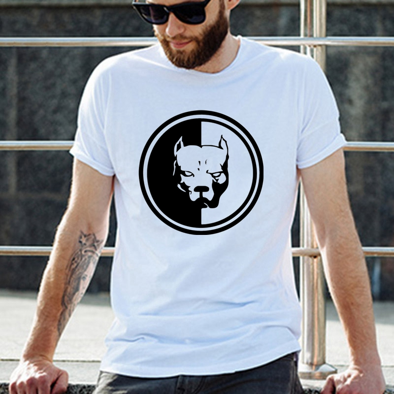 50028# pitbull <font><b>pit</b></font> <font><b>bull</b></font> t <font><b>shirt</b></font> men's tshirt top tee summer Tshirt fashion cool O neck short sleeve <font><b>shirt</b></font> image