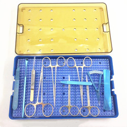 Офтальмологические инструменты для двойной хирургии век, косметические наборы, титановый офтальмологический инструмент из нержавеющей ст...
