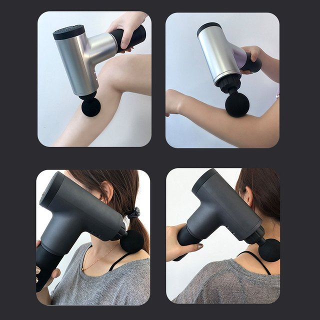 Physiotherapy Muscle Massage Gun Health Massage Deep Relaxation Device High Frequency Vibration Impact Fascia Gun 1