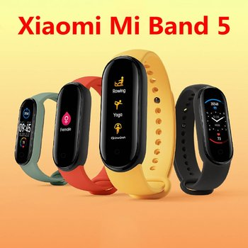 Original Xiaomi Mi Band 5 Wristband 4 Color Heart Rate Fitness Tracker Bluetooth Sport Bracelet AMOLED Screen Miband 5 цена 2017
