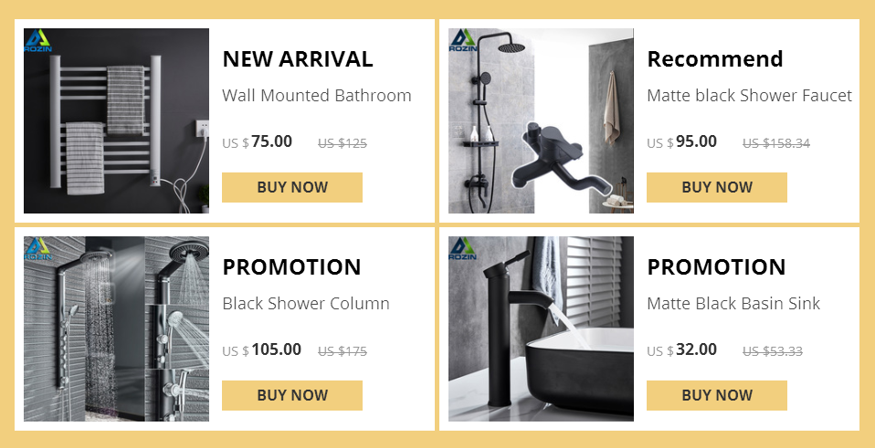 Hbaac5ee7b2f84693b6f5e0f43bce92e49 LED Light Shower Faucet Bathroom Waterfall Rain Black Shower Panel In Wall Shower System with Spa Massage Sprayer and Bidet Tap