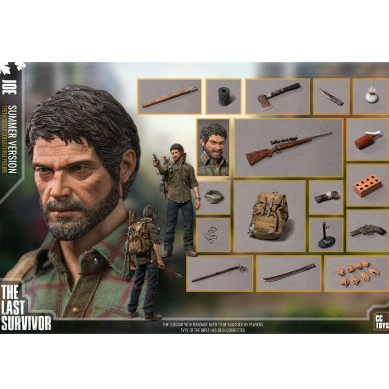 CC TOYS 1/6 Scale THE LAST SURVIVOR The Last Of US JOE Action Figure Gift Collection Kids Toys THE LAST SURVIVOR Full Set