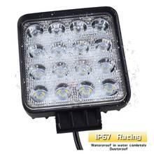 48 Вт автомобильный головной светильник s 16 светодиодный холодный