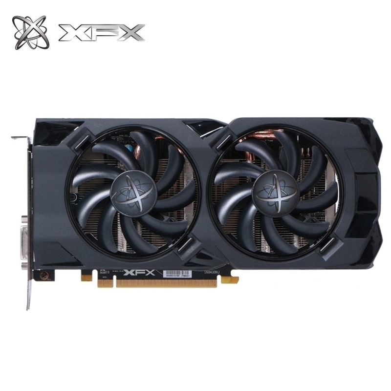 XFX Graphics Cards Pc Gaming Desktop GDDR5 Used Not-Mining 256bit Rx 470d 4GB title=