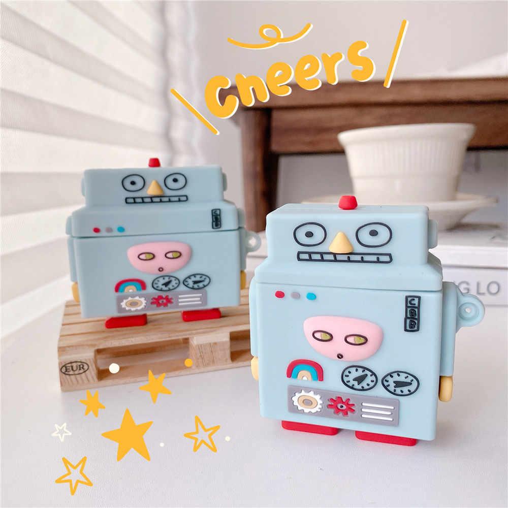 Mới Nhất Robot Tai Nghe Chụp Tai Dành Cho Tai Nghe Airpods 1 2 Pro Mát  Silicone Thời Trang Anime Dễ Thương Tai Nghe Vỏ Bảo Vệ Bán Buôn Phụ  Kiện